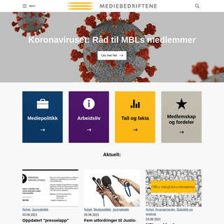 Mediebedriftenes Landsforening (MBL)