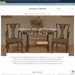 Buy Antique Furniture Online - Antiques For Sale in the UK