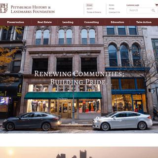 Pittsburgh History & Landmarks FoundationHome - Pittsburgh History & Landmarks Foundation