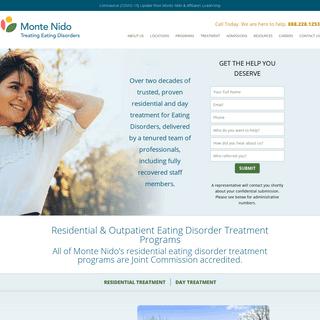 Eating Disorder Treatment and Exercise Addiction Treatment Programs - Monte Nido