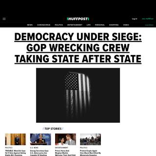 HuffPost - Breaking News, U.S. and World News - HuffPost