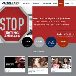 Animal Outlook - Exposing Truth. Inspiring Change.