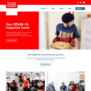 London Community Foundation - Welcome to LCF