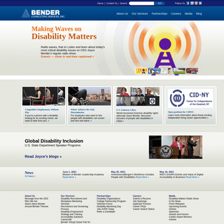Bender Consulting Services - Finding employment for people with disabilities