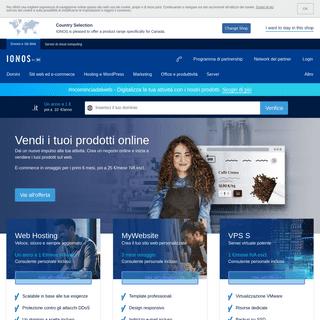 IONOS by 1&1» E-mail, domini e siti web