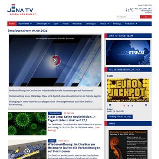Stadt Jena- Keine Neuinfektion, 7-Tage-Inzidenz sinkt auf 17,1 - Jena TV - Sehen, was bewegt.