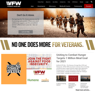 The Veterans of Foreign Wars of the U.S. - VFW