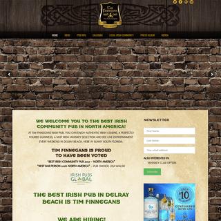 Tim Finnegans Irish Pub - Delray Beach, FL Irish Pub