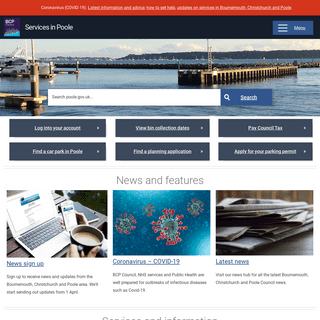 Homepage - Services in Poole