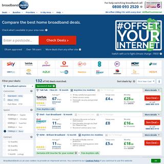 Broadband Deals from £16.99 - Fibre from £21.99 - BroadbandDeals.co.uk
