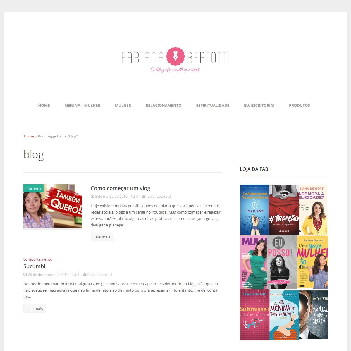 blog – Fabiana Bertotti