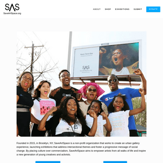 SaveArtSpace - Transforming Advertisements Into Public Art For Local Communities!