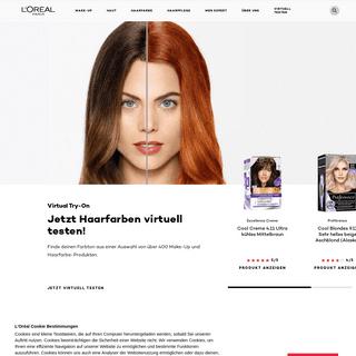 Make-up und Hautpflege entdecken - L`Oréal Paris