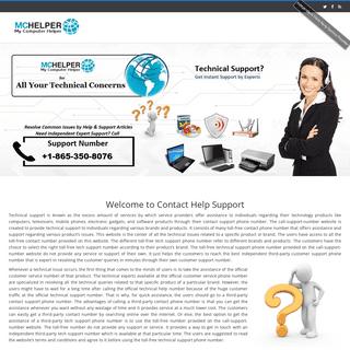 Contact Help Support +18653508076 -MCHelper