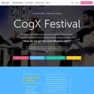 CogX Festival 2021 - CogX