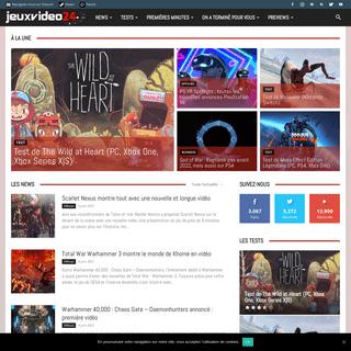 Accueil jeuxvideo24 -jeux vidéo sur PC et consoles