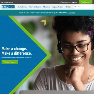 Healthcare School - Online and Campus Programs - Ultimate Medical Academy