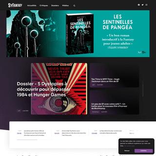SyFantasy - Le site de référence de l'imaginaire.