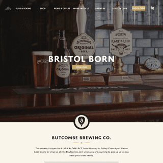 Butcombe Brewing Co. - Butcombe Brewery