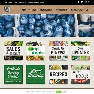 Home Page - East End Food Coop