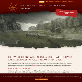 Creswell Crags Museum and Prehistoric Gorge