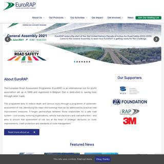 Home - EuroRAP