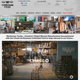 Worksman Cargo Bikes, Industrial Bicycles and Electric Tricycles from Worksman Cycles Factory Direct Store