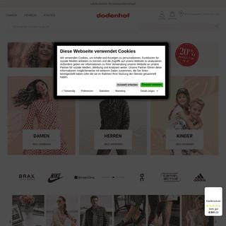 dodenhof Online-Shop - Die Online ShoppingWelt