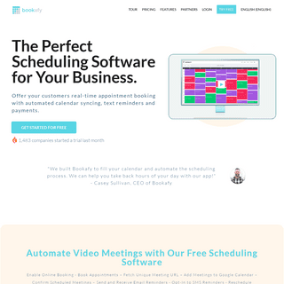 Best Free Online Appointment Scheduling Software - Bookafy