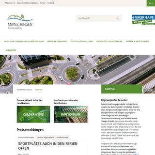 Startseite - Landkreis Mainz-Bingen