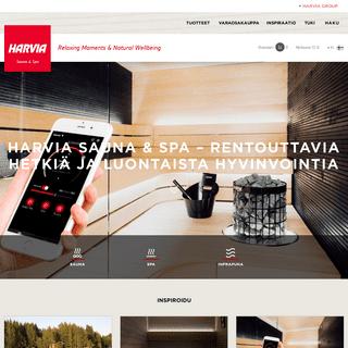 Sauna & Spa - harvia.fi
