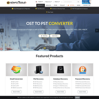 SysInfoTools Software - Free Data Recovery & Email Migration Tools - Official Website