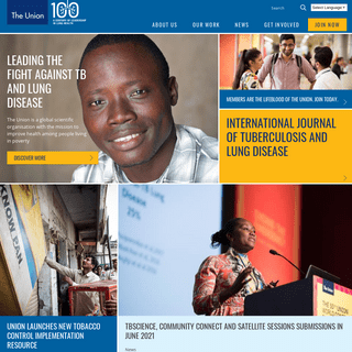 International Union Against Tuberculosis and Lung Disease homepage - The Union