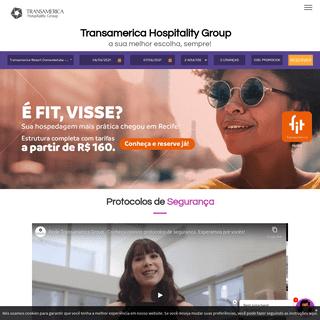 Transamerica Hospitality Group - Mais de 20 hotéis no Brasil - Reserve Online