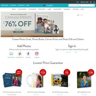 Online Photo Printing & Personalized Photo Gift Ideas - Snapfish US