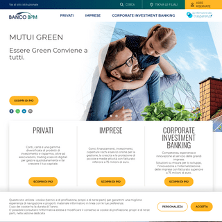 Banco BPM - Conti, mutui, carte, prestiti e assicurazioni