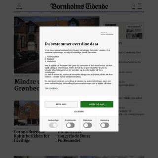 Nyheder fra Bornholm » Bornholms Tidende