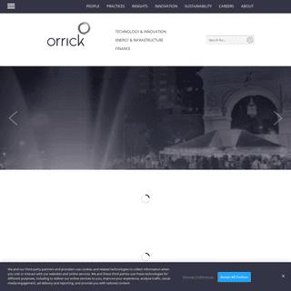 Orrick - Homepage