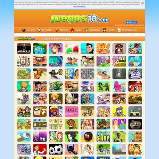 Juegos friv 10 y juegos gratis - juegos10.com