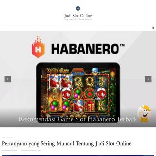 Judi Slot Online - Judi Slot Game Online Indonesia