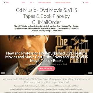 Cd Music - Dvd Movie & VHS Tapes & Book Place by CHMailOrder