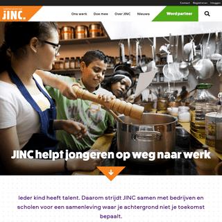 JINC - helpt jongeren op weg naar werk