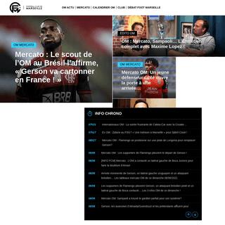 OM Actualité par FootballClubMarseille.fr - Olympique de Marseille - Mercato et Infos Transferts, media indépendant sur l`OM