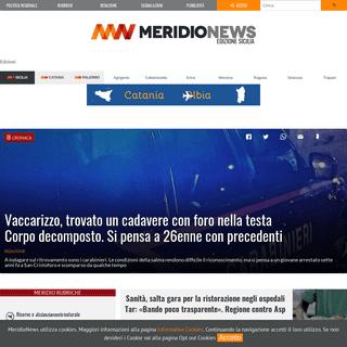 MeridioNews - Edizione Sicilia