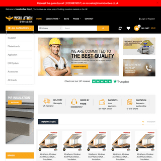 Buy Wall Insulation Online - Roof Insulation - Floor Insulation - Insulation Shop UK