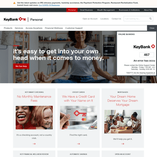 KeyBank - Banking, Credit Cards, Mortgages, and Loans