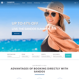 Sandos Resorts - All Inclusive Resorts in Spain & Mexico