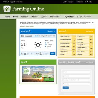 Farming News, Weather & Prices - Farming Online