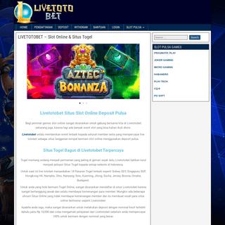 LIVETOTOBET - Link Alternatif 2021