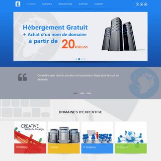 IT Group - IT Group - Web Solution - Hébergement - Support IT - Formation professionnel